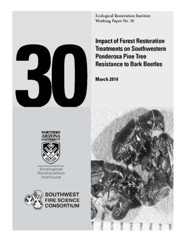 Impact Of Forest Restoration Treatments On Southwestern Ponderosa Pine Tree Resistance To Bark Beetles