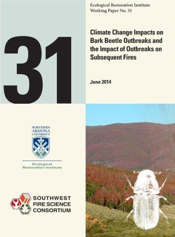 Climate Change Impacts On Bark Beetle Outbreaks On Subsequent Fires