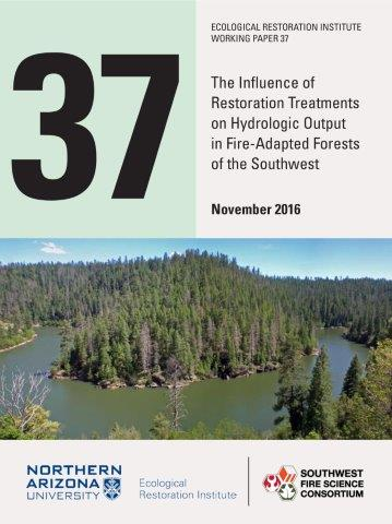 The Influence Of Restoration Treatments On Hydrologic Output In Fire-adapted Forests Of The Southwest