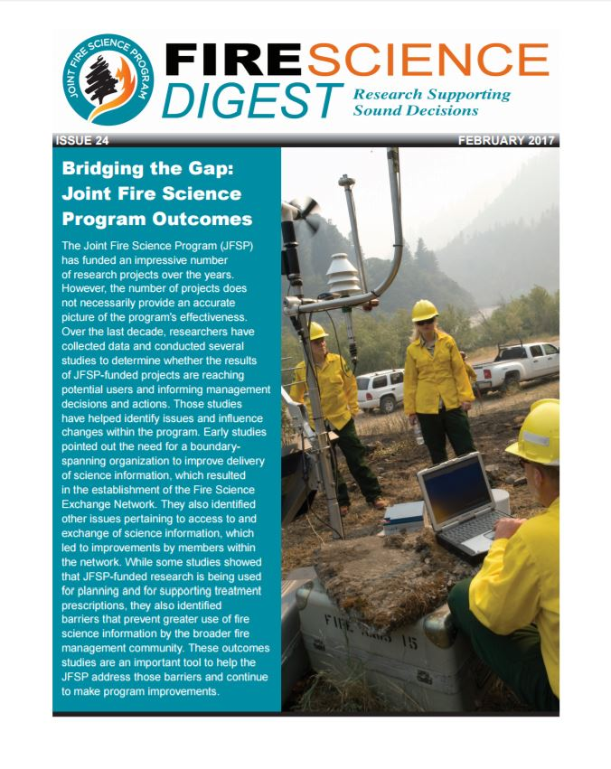 Is Science Used To Inform Fire Management And Policy Decisions?